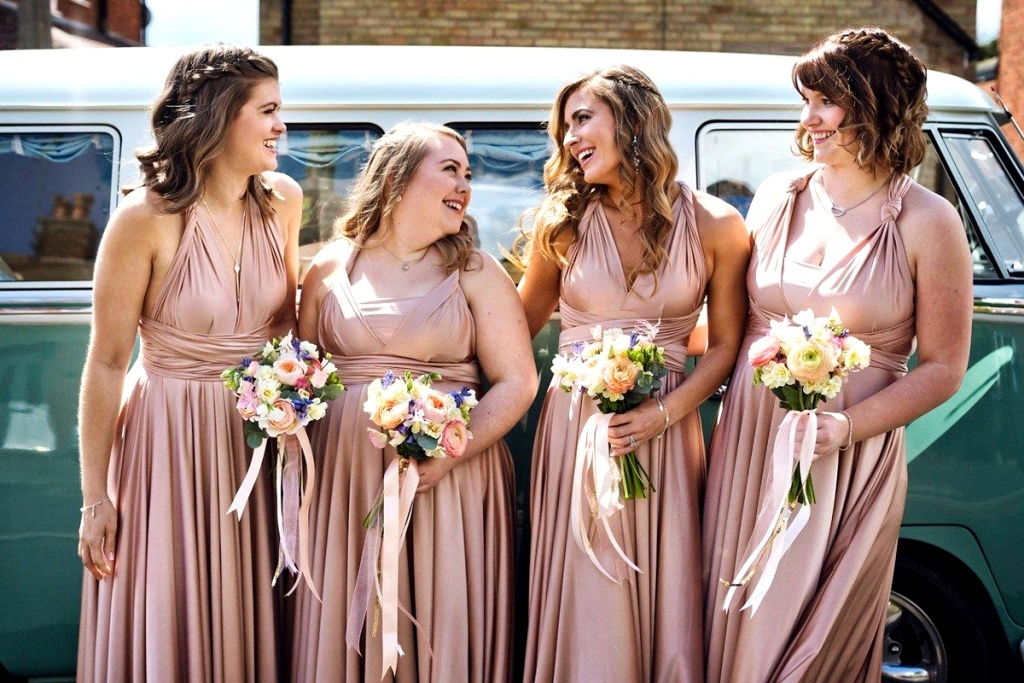 Sophisticated Rose Gold - Infinity Dress