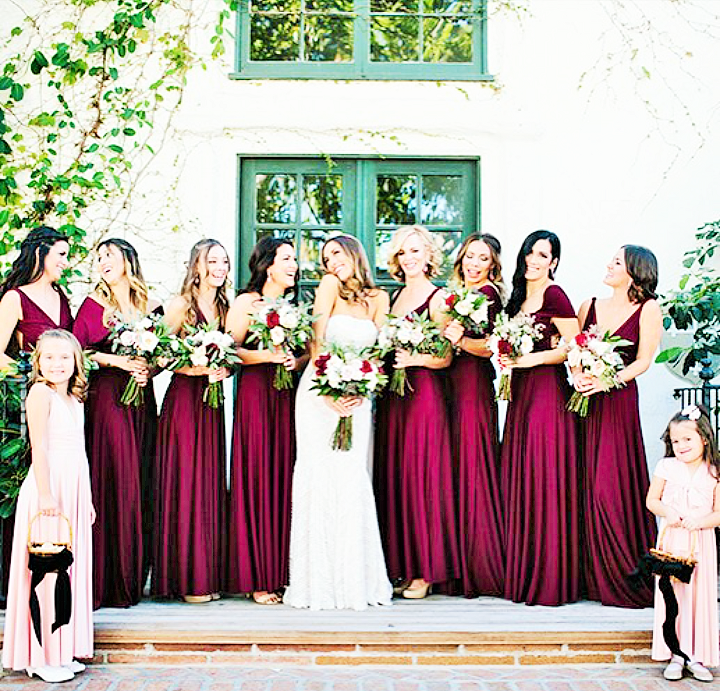 bridesmaids colour trends 2020