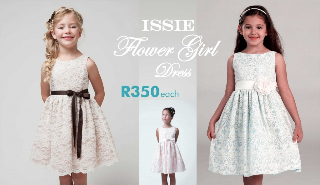 Introducing our new Issie Flower Girl Dress