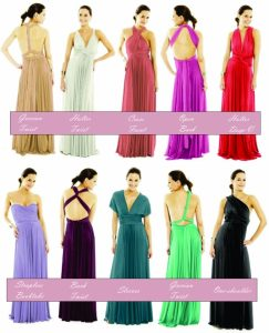 Infinity dress styles for your body shape!