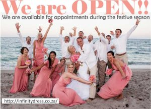 We are open during the Festive Season!