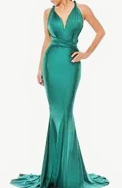 Mermaid infinity dress