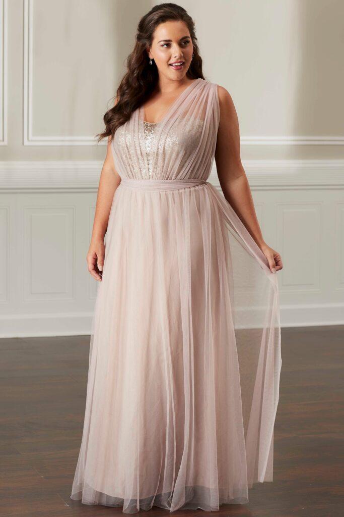 Infinity Sequins Dress