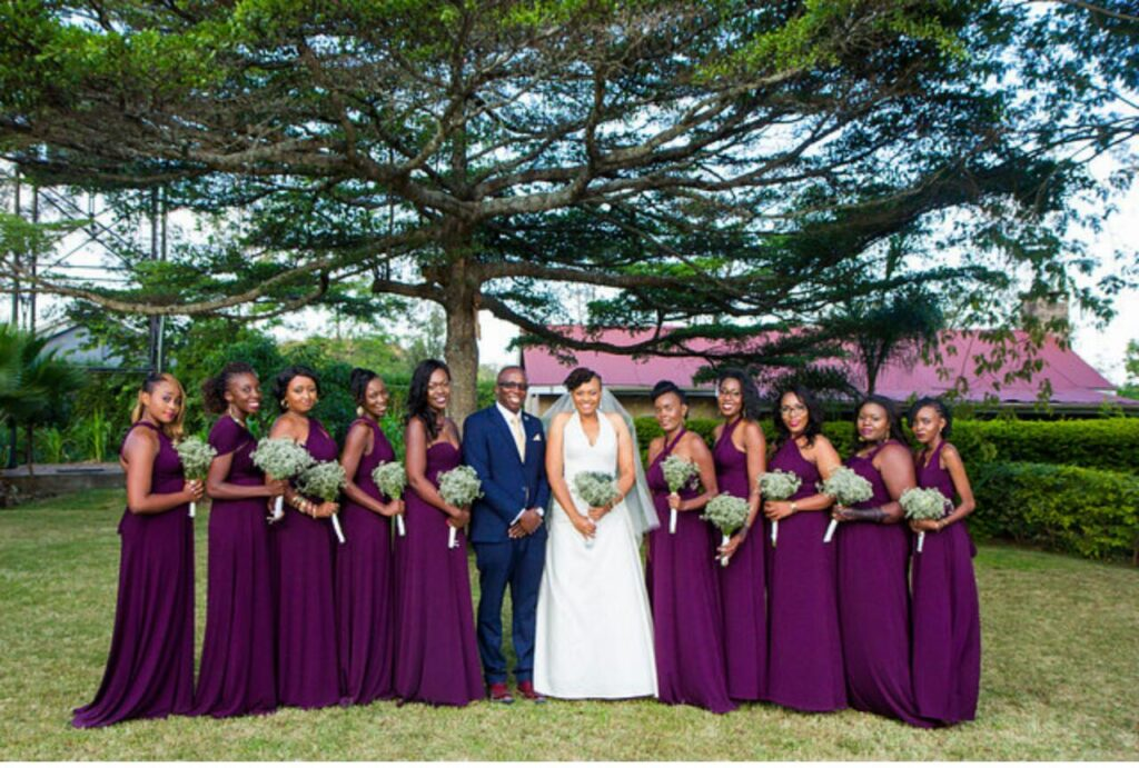 Large wedding party?